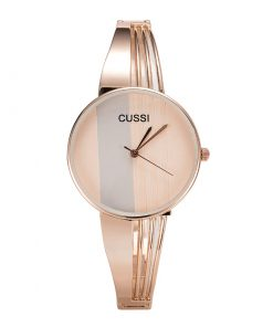 CUSSI Silver Luxury Ladies Bracelet Quartz Watch Women's Watches cb5feb1b7314637725a2e7: rose gold|Silver