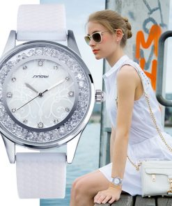 SINOBI Fashion Women's Diamond Silicone Watchband Top Luxury Wristwatch Women's Watches cb5feb1b7314637725a2e7: 11S9552L01|11S9552L02|11S9552L03|11S9552L05