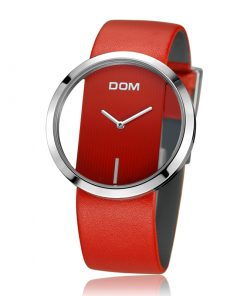 DOM Unique Waterproof Leather Lady Quartz Watch Watches cb5feb1b7314637725a2e7: LP 205L 1M|LP 205L 4M|LP 205L 7M