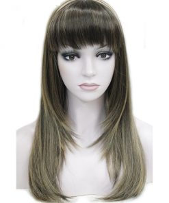 Strong Beauty Synthetic Long Straight Heat Resistant Full Capless Women's Wig Wigs cb5feb1b7314637725a2e7: #2|#33|#613|Auburn|Blonde|Brown|Muli Color|Multi Color|Ombre|Red|silver grey|TB/Dark Grey|Yellow|Natural Color