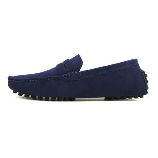Casual Suede Leather Loafer Driving Shoes for Men Footwear cb5feb1b7314637725a2e7: Black|dark blue|Gray|Green|khaki|Light Brown|Orange|sapphire|Sky Blue|wine red