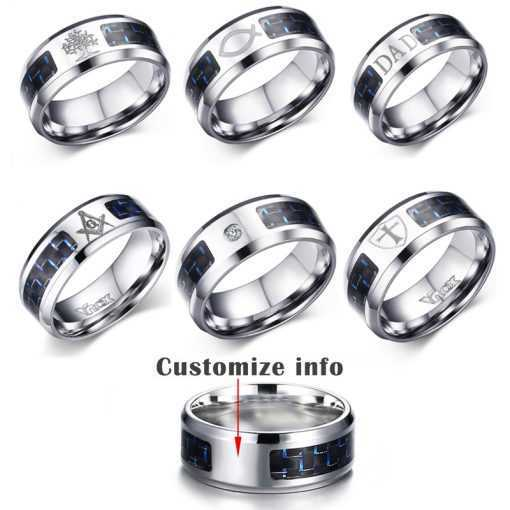 Carbon Fiber Engraved Tree Of Life Stainless Steel Ring for Man Jewelry 2ced06a52b7c24e002d45d: 10|11|12|7|8|9