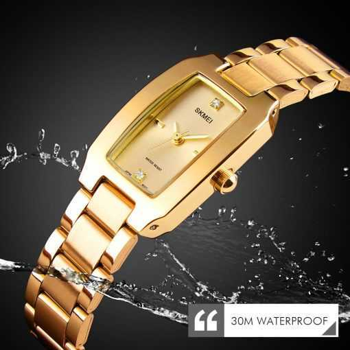 Fashion Ladies Luxury Stainless Steel Waterproof Watch Watches a69b6dcbd29cc775147bfb: black watch|gold watch|Rose Gold watch|silver watch